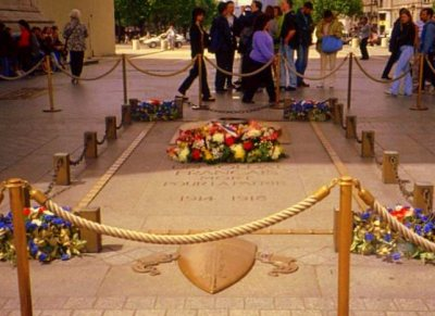 Tomb of France's Unknown Soldier, Arc de Triomphe