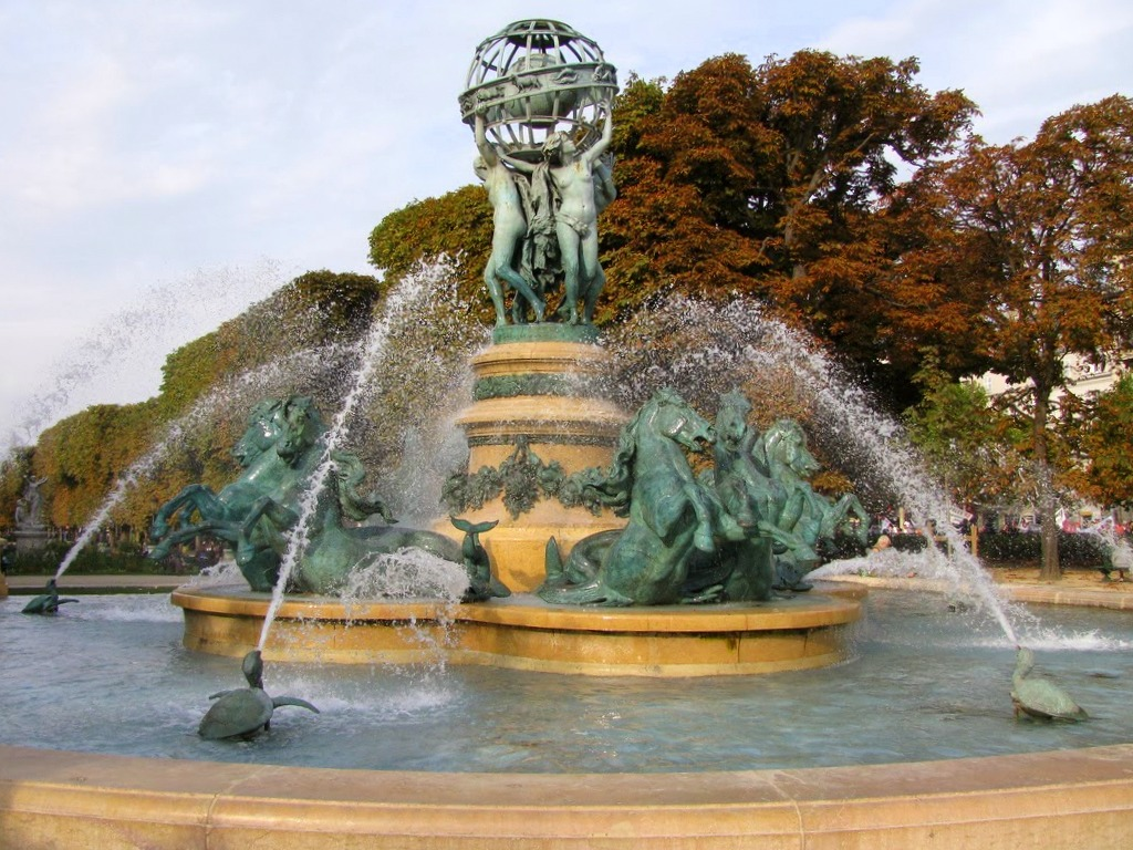 De Medici Fountain Luxembourg Garden Antonio Rambl 233 S Travels