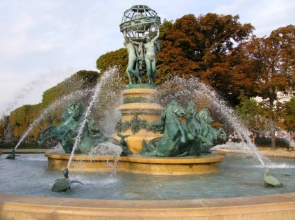 Observatory Fountain, Luxembourg Garden
