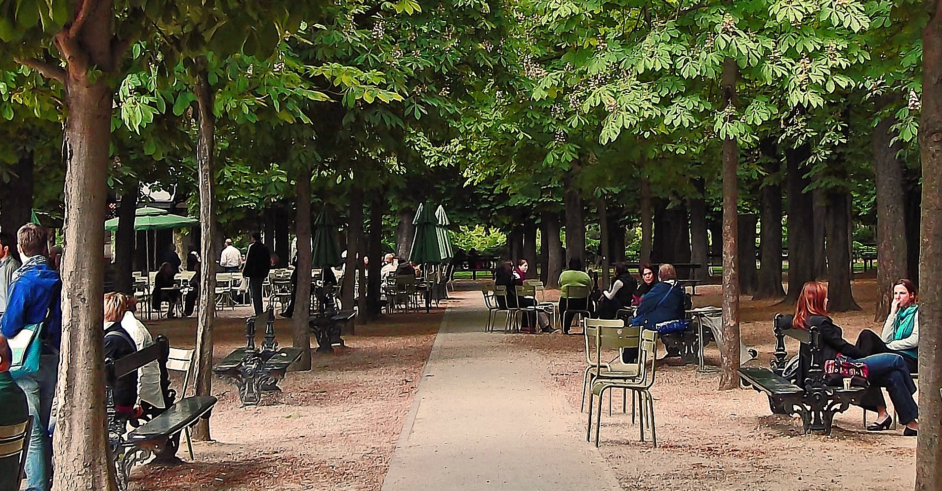 Luxembourg Garden Paris Antonio Rambles Travels