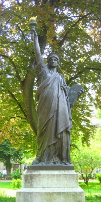 Statue of Liberty, Luxembourg Garden