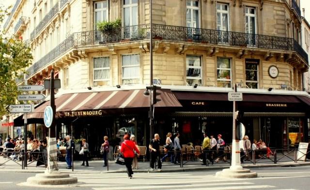 Café Le Luxembourg, Paris