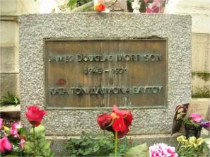 Grave of Jim Morrison, Père Lachaise cemetery