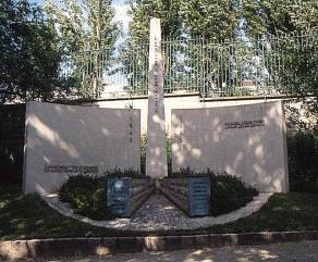 Bergen-Belsen memorial, Père Lachaise cemetery