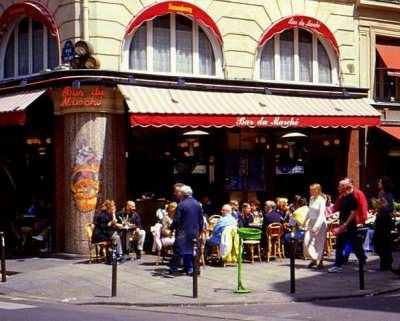 Paris Restaurants Cafes 014 Bar du Marche