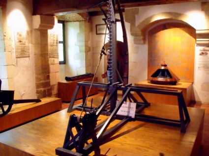 Leonardo's mechanical models at Château du Clos Lucé