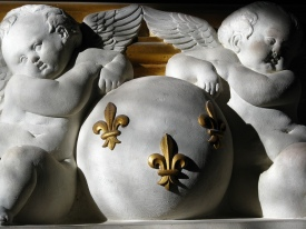 Sculpture detail, Château Chenonceau