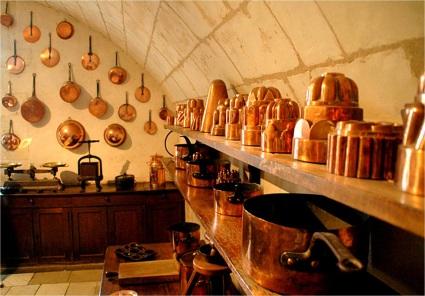 Kitchen, Château Chenonceau.