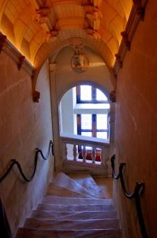 Staircase, Château Chenonceau.