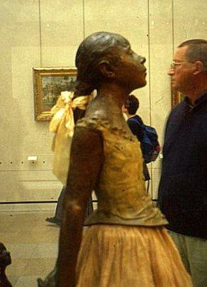 Degas ballerina, Musée d'Orsay , Paris