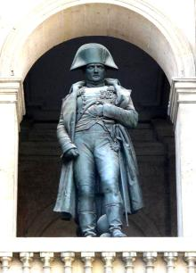 Statue of Napoleon, Les Invalides, Paris