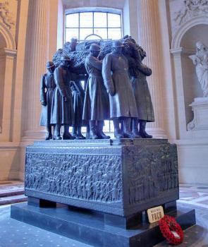 Marshal Foch's tomb, Les Invalides, Paris