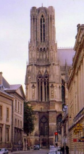 Bell tower, Cathedral of Notre-Dame de Reims