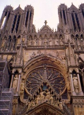 Front facade, Cathedral of Notre-Dame de Reims