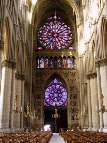 Interior, Cathedral of Notre-Dame de Reims
