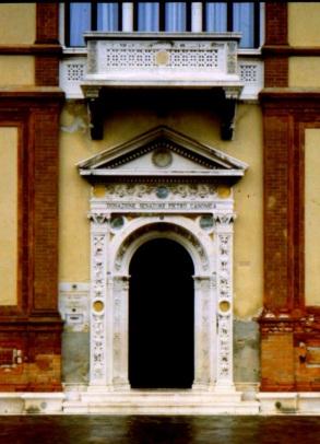 Palazzo entryway, Venice, Italy