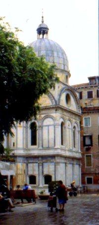 Neighborhood piazza, Venice, Italy