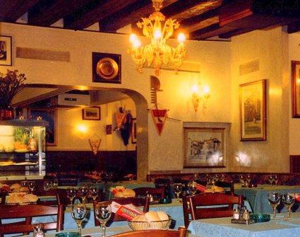 Restaurant, Venice, Italy.