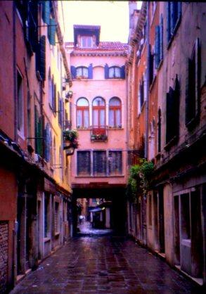 City lane, Venice, Italy