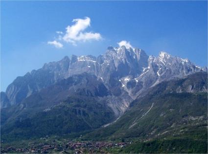 More Alps seen from near Bergamo, Italy