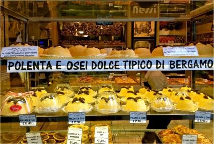 Bergamo-style polenta and sweets