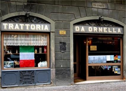 Trattoria, Bergamo, Italy