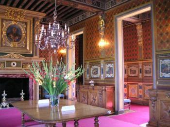 Dining room, Château de Cheverny