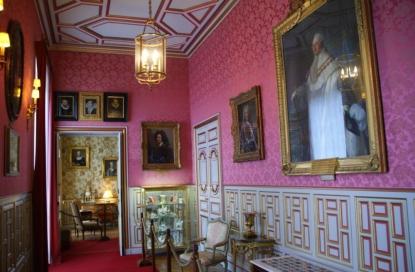 Hallway, Château de Cheverny