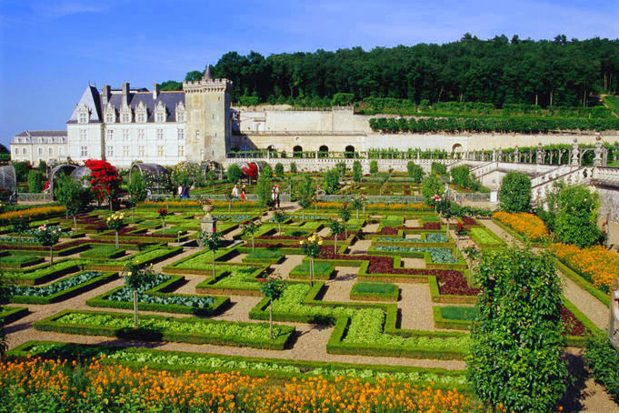 French country gardens - Ch 226 Teau De Cheverny Antonio Rambl 233 S Travels