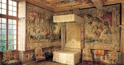 Bedchamber, Château de Cheverny