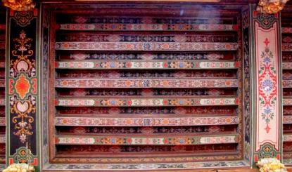 Ceiling detail, Château de Cheverny