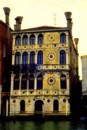 Grand Canal palazzo, Venice