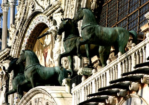 Image result for san marco horses venice