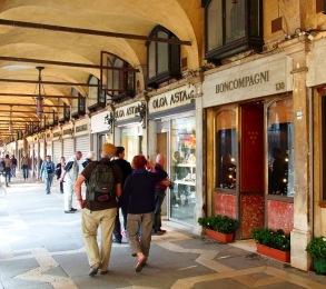 Promenade, Piazza San Marco, Venice, Italy