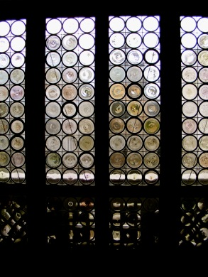 Window in the Doge's palace, Venice, Italy