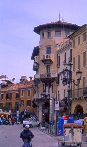 Street scene, Padua, Italy