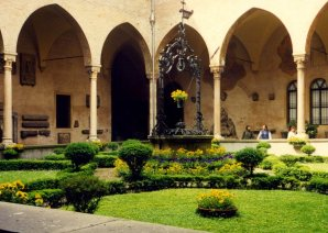 Courtyard, Basilica of Saint Anthony, Padua, Italy