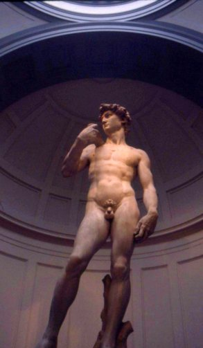 Michelangelo's Davids abound in Florence, Italy