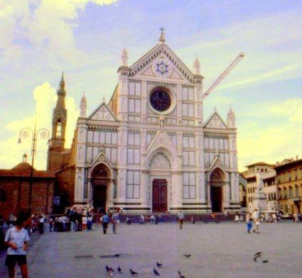 Santa Croce Basilica, Florence, Italy.