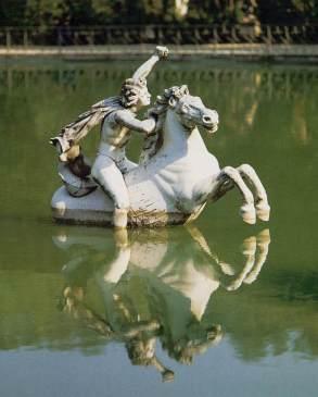 Perseus On Horseback, Boboli Gardens, Florence, Italy.