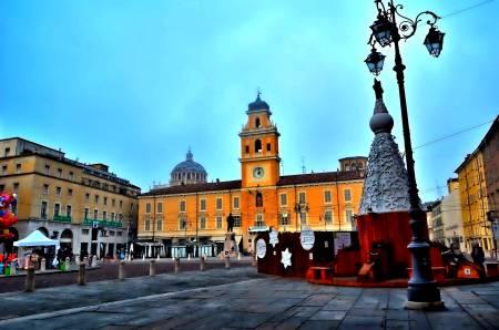 Palazzo del Governatore, Piazza Giuseppe Garibaldi, Parma, Italy.