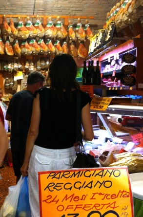Parma's signature ham and cheese in a local grocery.