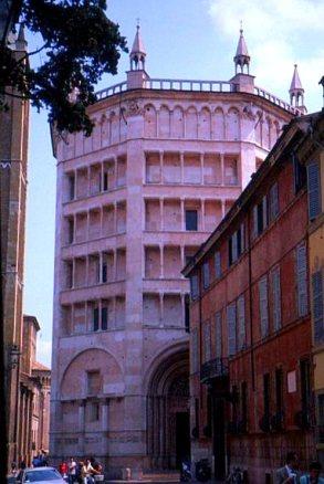 Baptistry, Milano. Italy.