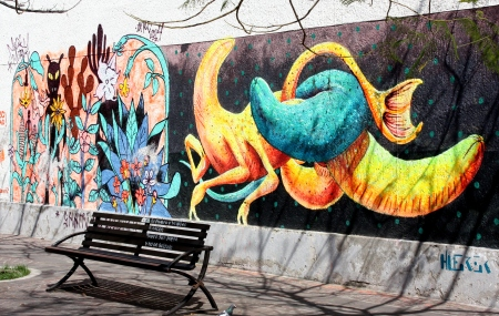 More mural art.