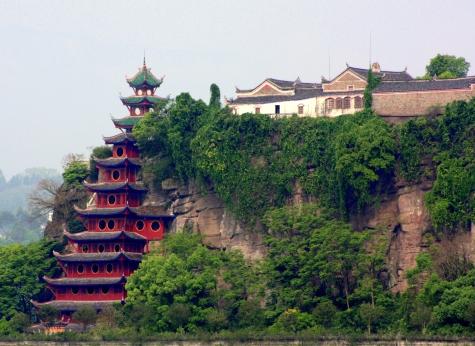 Shibaozhai Buddhist Temple, Chonquing Province