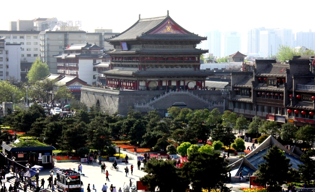 Drum Tower, Xi'an.