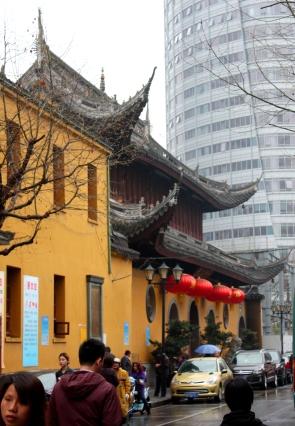 Couryard, Jade Buddha Temple, Shanghai