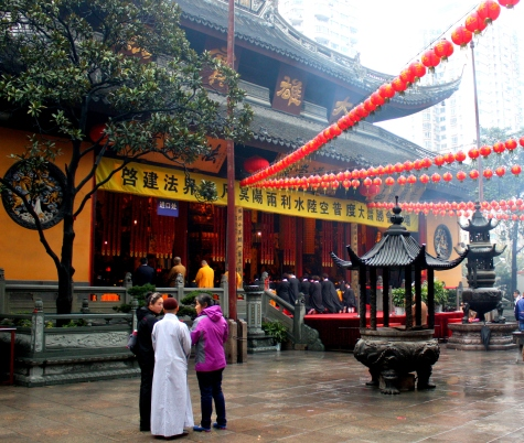jade Temple courtyard.