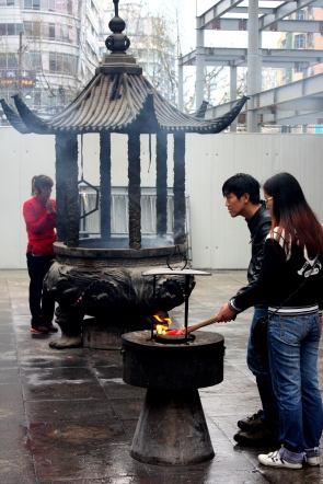 Buddhism still attracts young Chinese adherents.