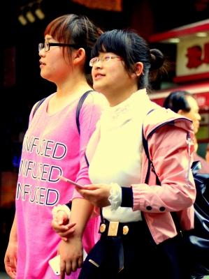China 120 Shanghai candids 2015-03-31